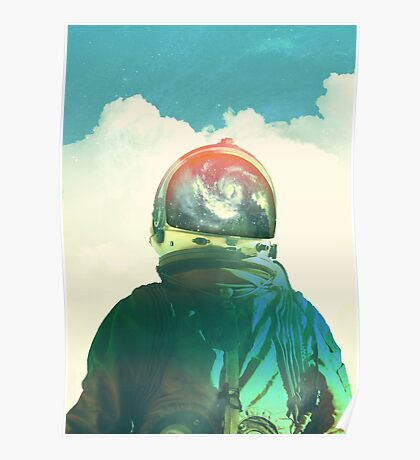 God is an astronaut Poster