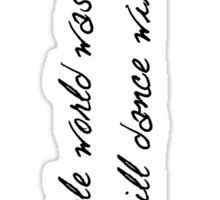 Niall Horan This Town Phone Case Sticker
