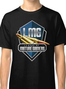 League of Mature Gamers Printed Logo Classic T-Shirt