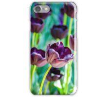 Black Tulips iPhone Case/Skin
