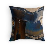 Gear Abstract Three Throw Pillow
