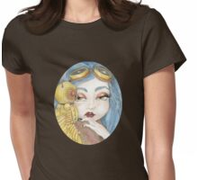 Secrets of the Clockwork Owl Womens Fitted T-Shirt