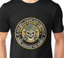 Army - God Will Jugde Our Enemies Unisex T-Shirt