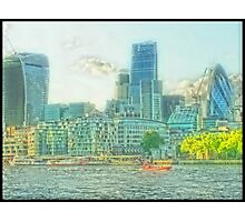 City Of London - The dreamy vista Photographic Print