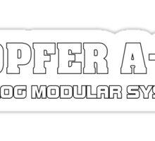 Deopfer A-100 (white) Sticker
