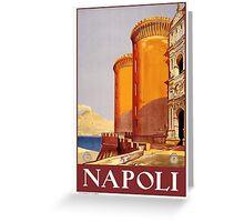 Napoli Greeting Card
