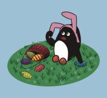 Easter Penguin Kids Tee