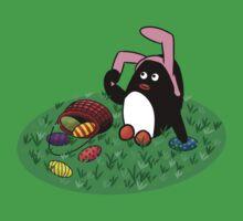 Easter Penguin Baby Tee