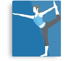 Wii Fit Trainer Vector Metal Print