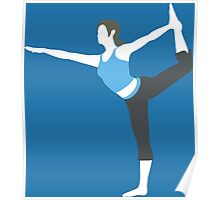Wii Fit Trainer Vector Poster