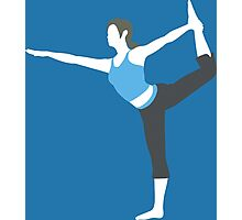 Wii Fit Trainer Vector Photographic Print