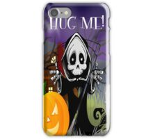 Grim Reaper - Hug Me! iPhone Case/Skin