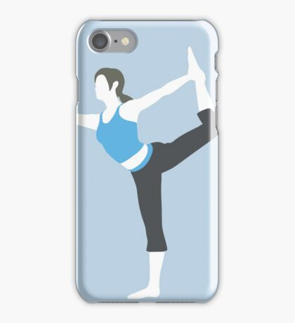 Wii Fit Trainer Vector iPhone Case/Skin