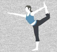 Wii Fit Trainer Vector Kids Clothes