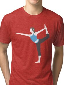 Wii Fit Trainer Vector Tri-blend T-Shirt