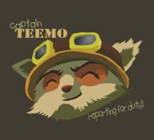 Captain Teemo T-Shirt