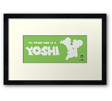 My Other Ride is a Yoshi Framed Print