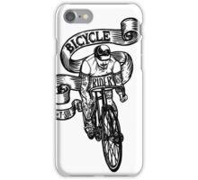 Bicycle Rider iPhone Case/Skin