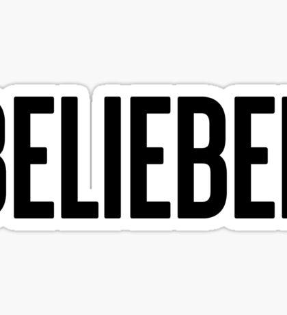 BELIEBER Justin Bieber Sticker