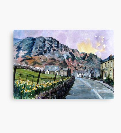 """A Host of Golden Daffodils"" Coniston, Lake District, Cumbria Canvas Print"