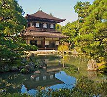 Kyoto: Ginkakuji Temple (Silver Pavilion) by johnrf
