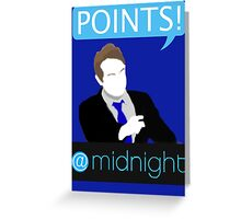 POINTS! Greeting Card