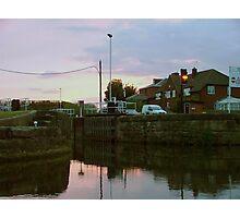 Evening at Castleford Lock........! Photographic Print