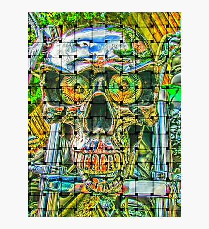 Crazy skull #1 Photographic Print