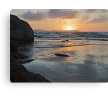 Sunset from Norman Bay at Wilsons Promontory Canvas Print