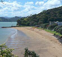 Paihia Beach,  Bay of Islands,  New Zealand...............! by Roy  Massicks
