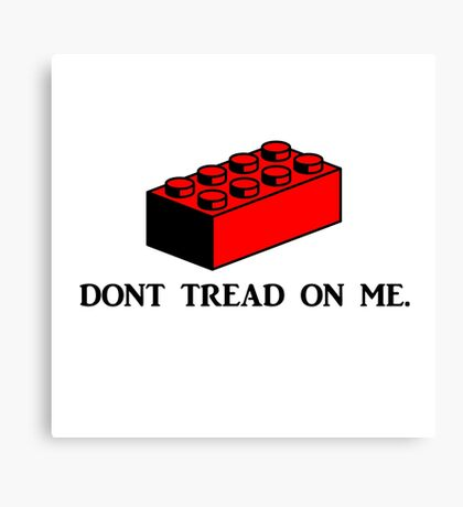 dont tread on me Canvas Print