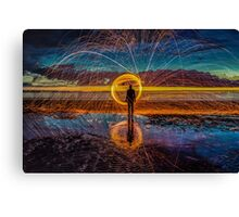 Sparks will fly Canvas Print
