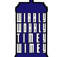Wibbly Wobbly Timey Wimey by berryghost