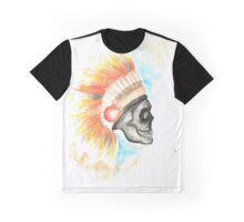 Liquorice Summer Skull Graphic T-Shirt