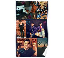 Dolan Twins - Fall collage  Poster