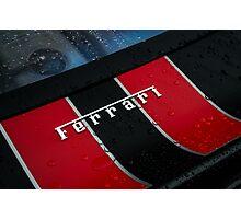 Ferrari 430 Scuderia logo Photographic Print