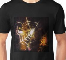 You Know It's Halloween... Skull Caught in Spider's Web Unisex T-Shirt