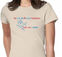 ASUM Volunteer-4 Womens Fitted T-Shirt