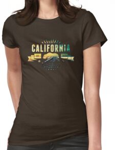 California Railway Womens Fitted T-Shirt