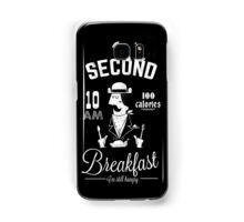 Second Breakfast Samsung Galaxy Case/Skin