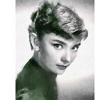 Audrey Hepburn Hollywood Actress Photographic Print