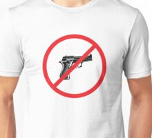 NO GUNS ALLOWED Unisex T-Shirt