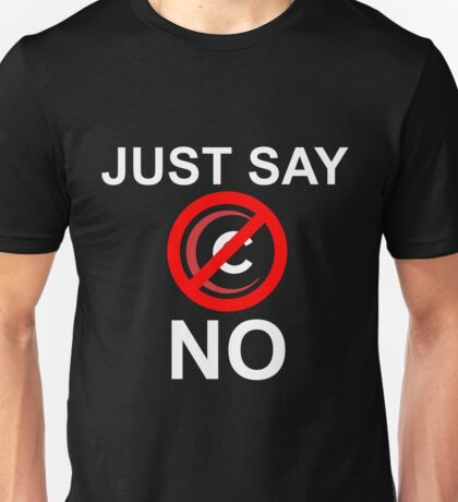 Just say no Comcast shirt (dark shirts) Unisex T-Shirt