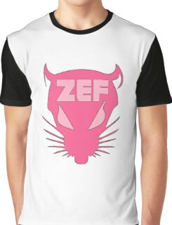 ZEF RAT on Fire Design Graphic T-Shirt
