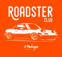 Roadster club. Mazda MX5 Miata Kids Tee