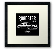 Roadster club. Mazda MX5 Miata Framed Print