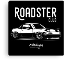 Roadster club. Mazda MX5 Miata Canvas Print
