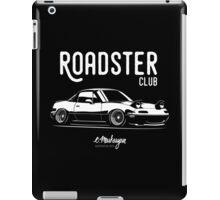 Roadster club. Mazda MX5 Miata iPad Case/Skin