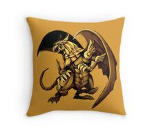 Winged Dragon of Ra Throw Pillow