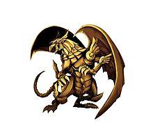 Winged Dragon of Ra Photographic Print